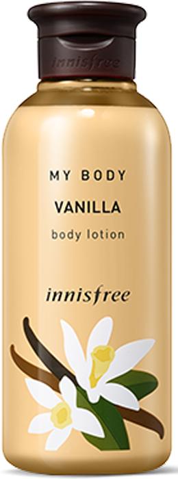 Innisfree Лосьон для тела ваниль, 300 мл530885Пленительный тонкий аромат ванили подарит чуственное наслаждение. Ваниль согревает в ненастные дни, обволакивает вас ощещением тепла и спокойствия.