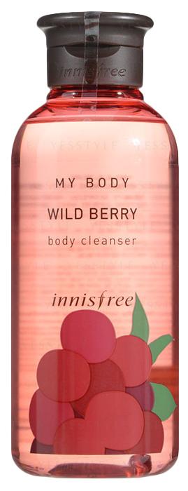 Innisfree Гель для душа дикие ягоды, 300 мл580743Парфюмированный гель для душа зарядит вас энергией и подарит несколько минут удовольствия! Ароматизированный гель для душа - дикие ягоды. Яркий, сочный аромат лесных ягод освежает разум и тело. Экстракты черники и земляники насыщают кожу полезными мокроэлементами, питают и возвращают упругость.