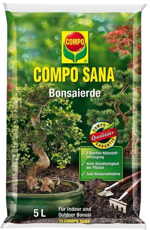 Почвогрунт для бонсай Compo Сана1160204066Почвогрунт Compo Сана - это идеальные условия для роста вашего бонсай. Тончайший кварцевый песок с минеральным комплексом обеспечит полноценное питание и увлажнение вашего растения