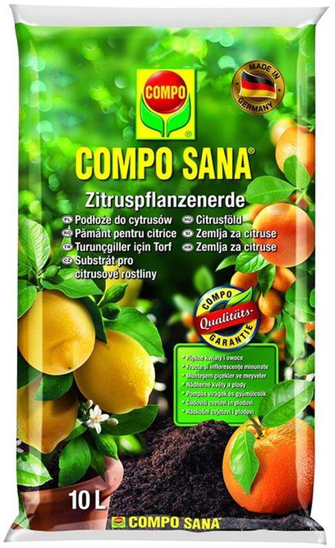 Почвогрунт для цитрусовых Compo Сана, 10 л