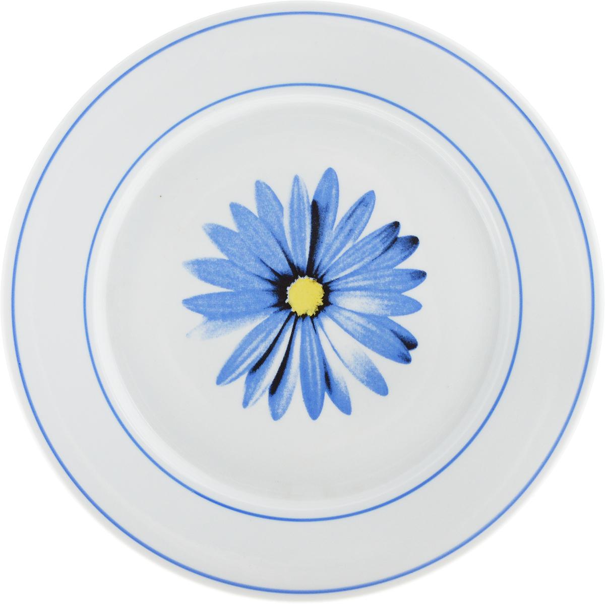 Тарелка Фарфор Вербилок Астра, диаметр 24 см16590680_белыйТарелка Фарфор Вербилок Астра, изготовленная из высококачественного фарфора, имеет классическую круглую форму. Она прекрасно впишется в интерьер вашей кухни и станет достойным дополнением к кухонному инвентарю. Изделие дополнено цветочным рисунком.