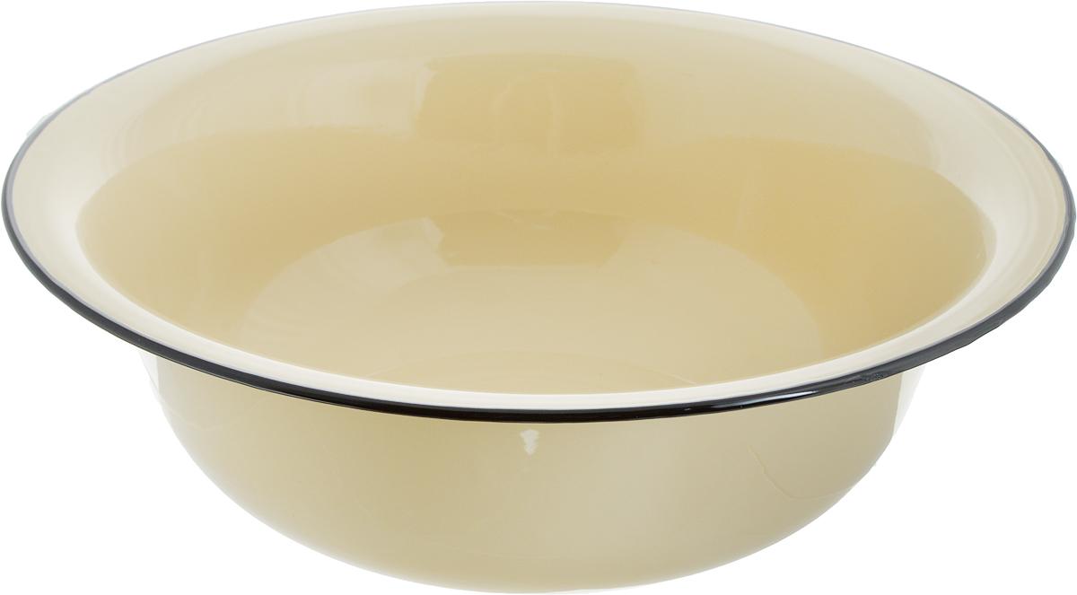 Таз эмалированный Лысьвенские эмали, цвет: желтый, 12 л. С-3024/Рб таз эмалированный стэма 3021
