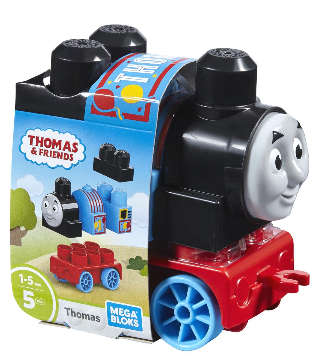 Mega Bloks Thomas & Friends Конструктор Паровозик Томас FFD61 mega bloks конструктор томас и друзья mega bloks dpj17