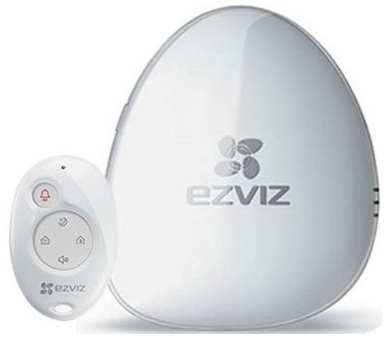 Ezviz А1 центр управления умным домом с пультом управления К26954273625832Ezviz А1 - это блок управления видеоохраной подключаемый по Wi-Fi. В свою очередь к нему можно подключать дополнительные датчики и оборудование.Для установки комплекта видеоохраны достаточно подключения к сети Wi-Fi ,приложения Ezviz и сети питания. Сигнал тревоги приходит по Wi-Fi. С помощью приложения EZVIZ можно ставить систему на охрану и следить за происходящим камерами видеонаблюдения.Мобильное приложение на смартфонах IPhone и Android. С его помощью удобно подключаться к домашней сети Wi-Fi и производить всевозможные настройки.