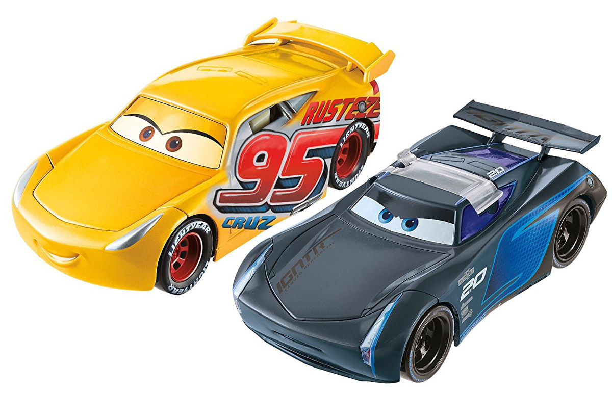 Cars Набор машинок Крус Рамирес и Джексон Шторм машинки mattel ассортимент машинок перевёртышей cars