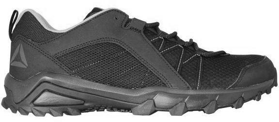 Кроссовки трекинговые мужские Reebok Trailgrip 6.0, цвет: черный, серый. BS5236. Размер 10 (43,5)BS5236Кроссовки трекинговые мужские Reebok Trailgrip 6.0 выполнены из текстиля. Классическая шнуровка надежно фиксирует модель на стопе.В таких кроссовках вашим ногам будет комфортно и уютно. Заниженный дизайн кроссовок обеспечивает свободу движений.