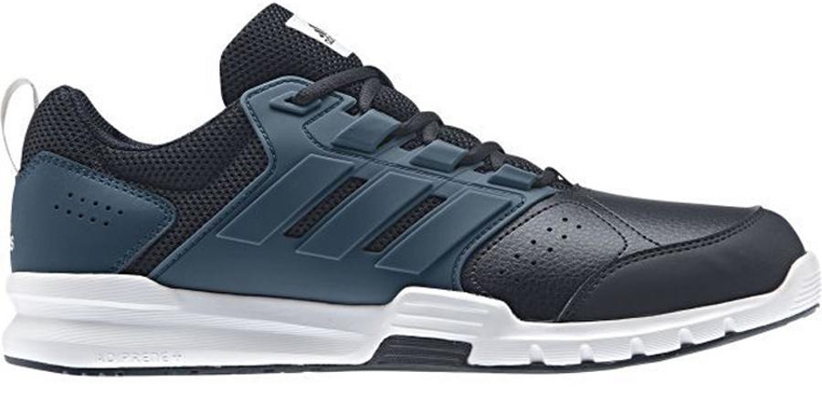 Кроссовки для бега мужские adidas Neo Galaxy 4 Trainer, цвет: темно-синий. BB3231. Размер 12 (46)BB3231Для специализированных занятий нужна спортивная обувь с максимальной поддержкой. Благодаря поддерживающему каркасу в средней части стопы эти мужские кроссовки от adidas обеспечивают твоим ногам устойчивость во время интервальных тренировок. Верх с сетчатой подкладкой усиливает вентиляцию, а промежуточная подошва CloudFoam смягчает каждый шаг.