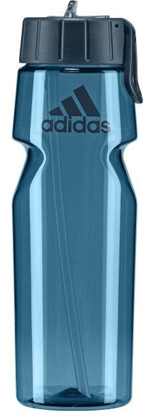 Бутылка для воды Adidas Tr Bottle, цвет: синий. BQ4460BQ4460Эта бутылка поможет утолять жажду во время бега. Благодаря эргономичному дизайну и вынимающейся соломинке ее можно использовать, не сбавляя темп. Легко наполняется через широкое горлышко. Шкала литража помогает отслеживать количество потребляемой жидкости во время тренировок.