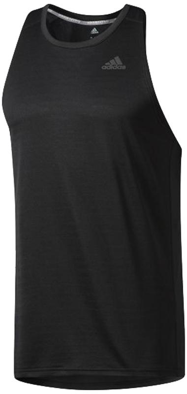 Майка для бега мужская Adidas Rs Singlet M, цвет: черный. BP7474. Размер XXL (60/62) майка спортивная race singlet