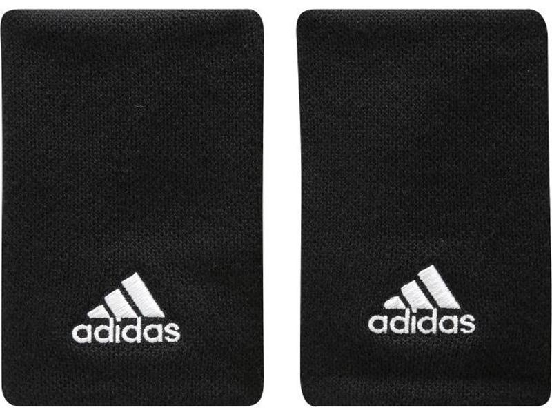 Напульсники подростковые Adidas Ten Wb, цвет: черный, 2 шт. S97836-OSFYS97836-OSFYПодростковые напульсники Adidas Ten Wb обеспечивают максимальный комфорт благодаря материалу, конструкции и толщине. Трикотажная структура Pique. Вышитый логотип adidas.