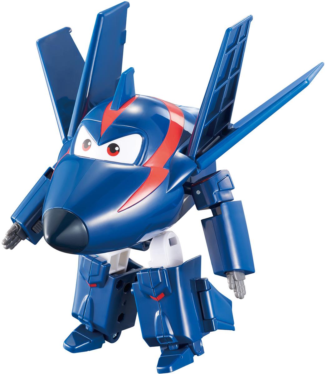 Super Wings Трансформер Чейз EU720223 hong kong далеко ришелье журналы снится обратно в силу раннего детства обучающие игрушки небольшой самолет небольшой самолет синий номер