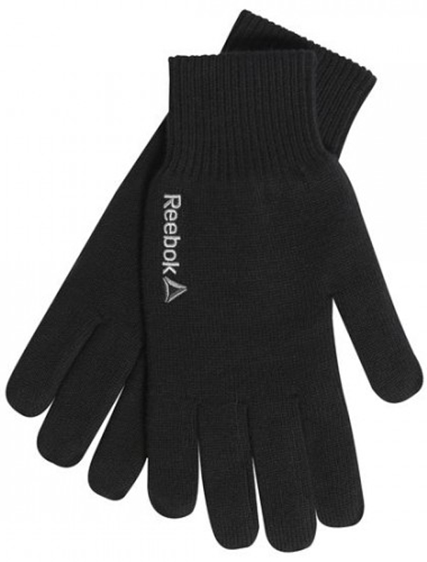 Перчатки мужские Reebok Se M Logo Gloves, цвет: черный. BQ1194. Размер L (22)BQ1194Теплые перчатки от Reebok - незаменимый предмет зимней экипировки. Эта модель из коллекции Sport Essentials как раз то, что вам необходимо. Она надежно защищает от холода и отлично сидит на руке благодаря манжетам в рубчик. Стильный логотип позволит продемонстрировать приверженность активному образу жизни даже в холодную погоду.Облегающий дизайн для полной свободы движений. Подкладка из флиса добавляет мягкости.