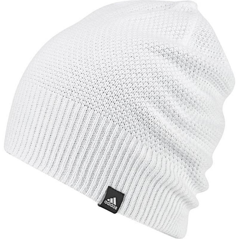 Шапка женская Adidas W Cl Beanie Rev, цвет: белый. BR9994. Размер 56/57BR9994Спортивная женская шапка adidas Classic Reversible выполнена из полиакрила. Мягкая двухсторонняя зимняя шапка оформлена полосатым акцентом с одной стороны и однотонным узором с другой.