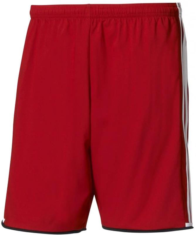 Шорты спортивные мужские Adidas Condi 16 SHO, цвет: красный. AC5236. Размер XL (56/58)AC5236Мужские спортивные шорты Adidas Condi 16 SHO прекрасно подойдут для тренировок. Модель выполнена из легкой, приятной к телу ткани, которая быстро отводит излишки влаги от тела, обеспечивая комфорт.Модель прямого кроя на эластичном поясе с регулируемым шнурком. По бокам изделие оформлено лампасами контрастного цвета.