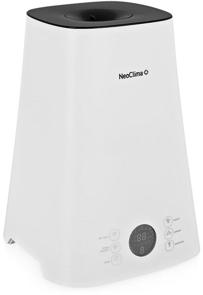 Neoclima NHL-500-VS, White увлажнитель воздуха30759Увлажнитель воздуха Neoclima NHL-500-VS легко справится с задачей по поддержанию оптимального уровня влажности в помещении. Увлажнитель прост в эксплуатации, с помощью удобного регулятора вы всегда сможете установить необходимый уровень влажности, а благодаря стильному дизайну отлично впишется в любой интерьер.Контроль заданного уровня влажностиЦифровой экран