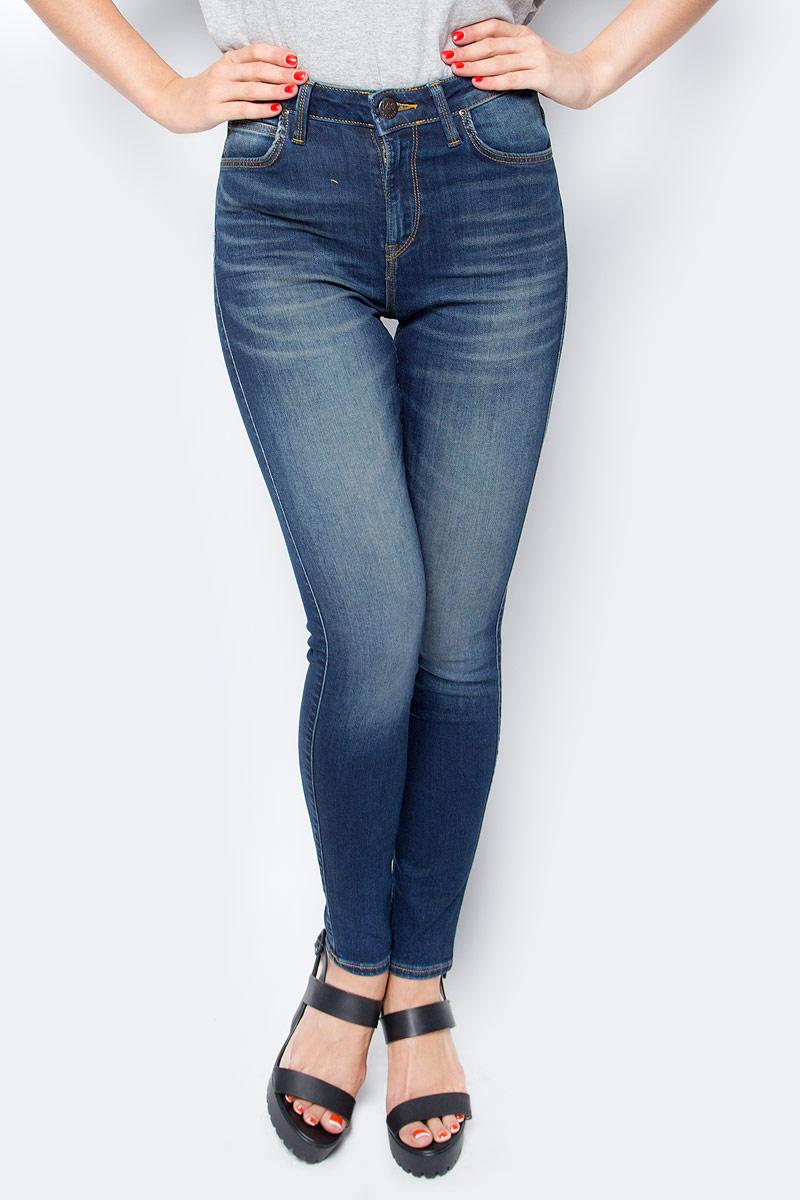 Джинсы женские Lee, цвет: синий. L626HAEL. Размер 29-35 (44/46-35) джинсы lee джинсы powell