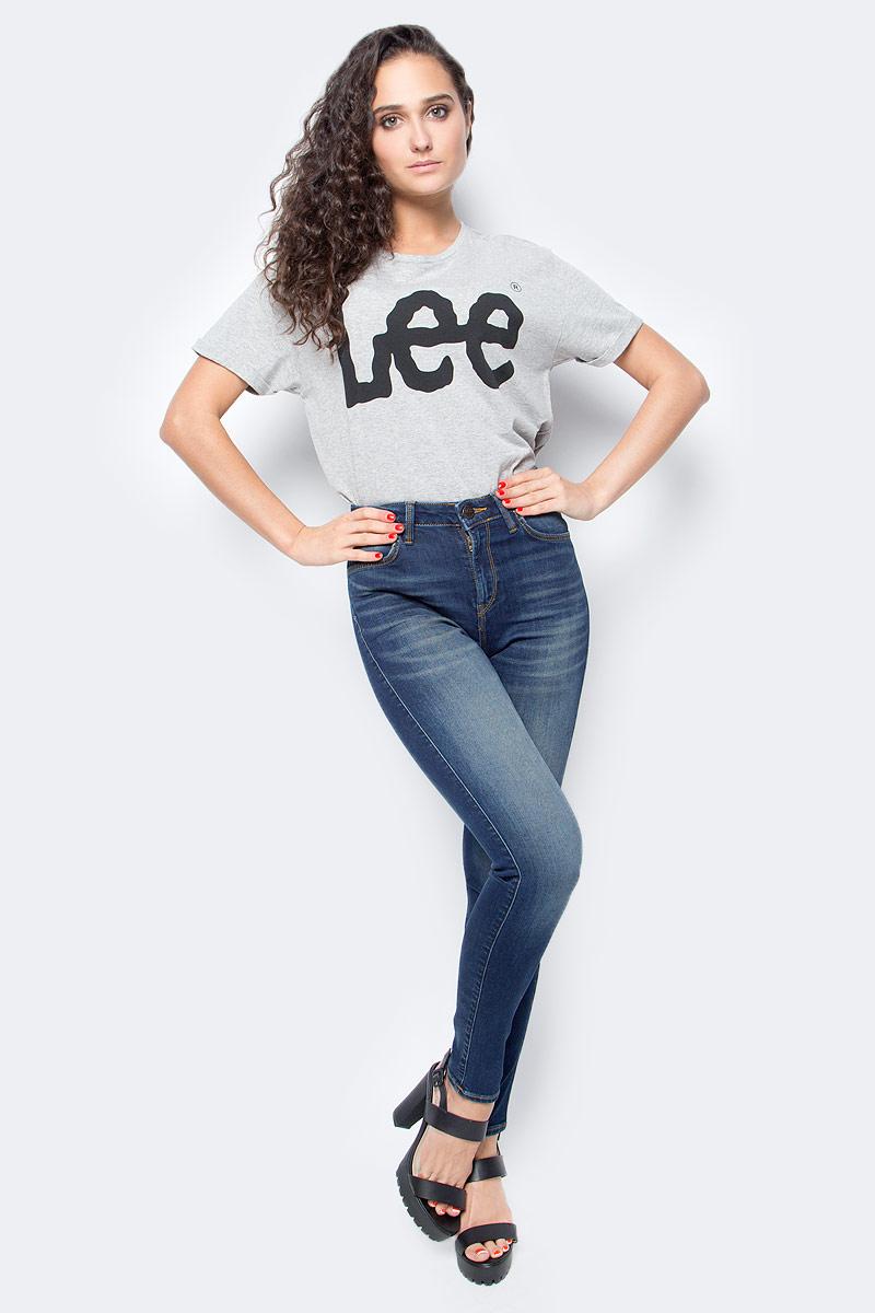 Джинсы женские Lee, цвет: синий. L626HAEL. Размер 30-35 (46-35) женские джинсы lee