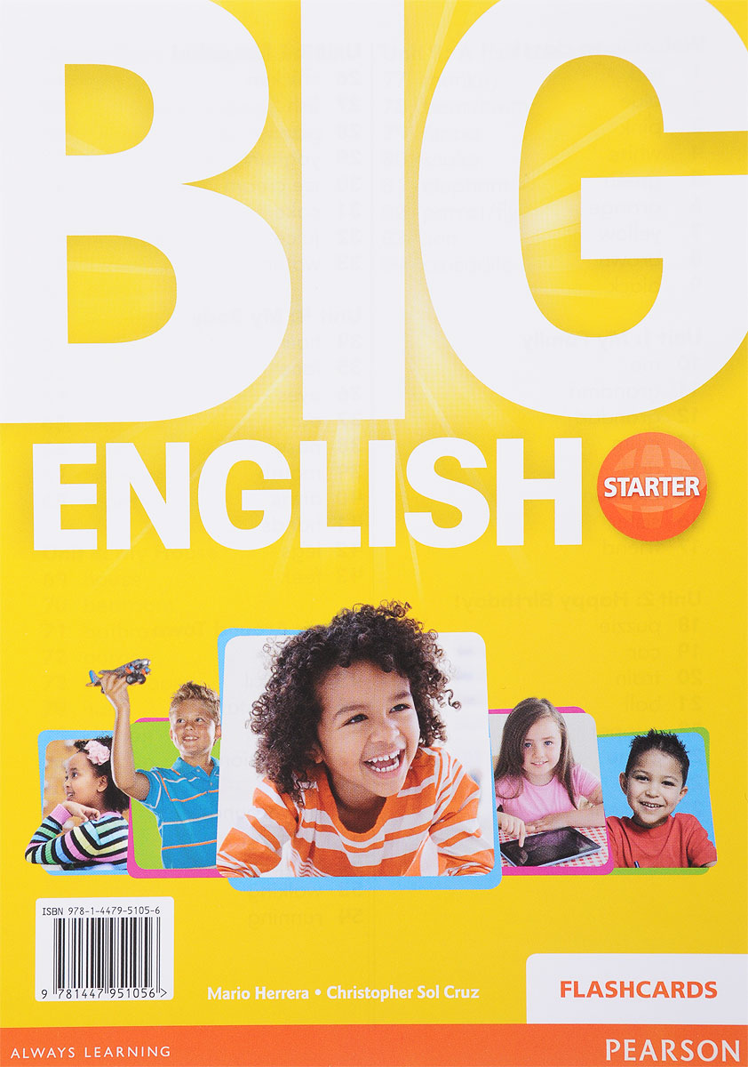 Big English Starter: Flashcards english learning and teaching in taiwan