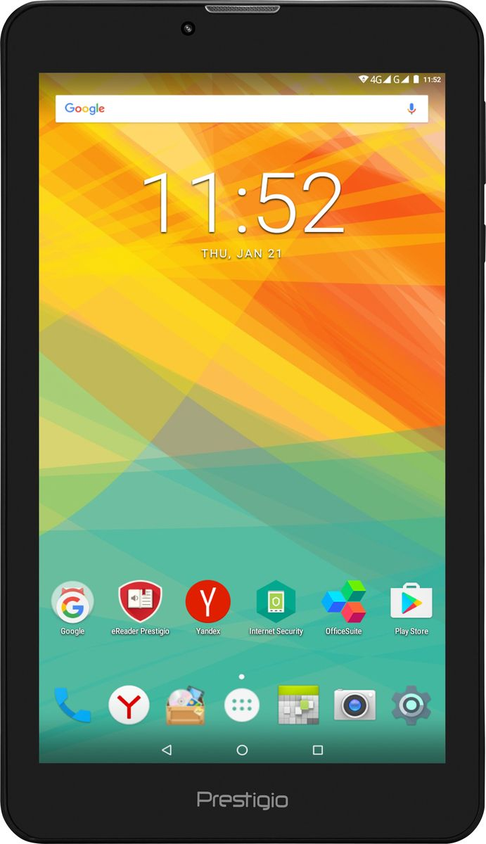 Prestigio Grace 3157 3G 8GB, Black - Планшеты