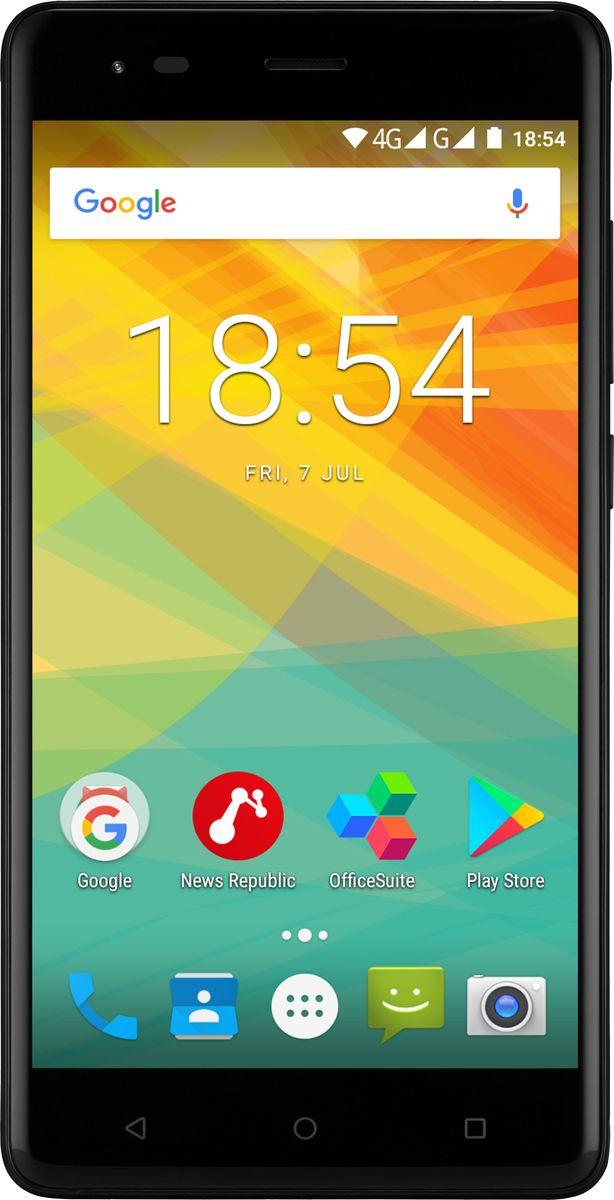 Prestigio Grace R5 LTE, BlackPSP5552DUOBLACKPrestigio Grace R5 LTE – красота в чистом виде! Вам понравятся изысканный тонкий металлический корпус, широкий 5,5-дюймовый IPS-экран и усовершенствованная 13,0-мегапиксельная камера. Но самое главное - с помощью этого устройства вы можете пользоваться молниеносной связью 4G!Смартфон имеет стильный современный дизайн. Тонкое 8,7-милиметровое устройство с металлическим корпусом и красивой расцветкой (выберите гламурный золотой или классический черный) подчеркнет ваш вкус.Grace R5 LTE поддерживает 4G-соединение, которое дает бесконечные возможности загрузки больших файлов за считанные секунды, стриминга со смартфона без подвисаний, игры в многопользовательские игры и серфинга быстрее, чем когда-либо прежде.С 5,5 дюймами вы всегда получите больше, чем ожидаете. Grace R5 LTE может заменить планшет или даже ноутбук для выполнения повседневных задач - серфинга в Интернете, работы с документами и развлечений. Разрешение HD 1280x720 и технология IPS позволяют отображать цвета с большой четкостью. Изогнутое 2,5D стекло обеспечивает красивый внешний вид и удобство использования.Станьте популярным пользователем Instagram или просто сохраняйте на память яркие моменты вашей жизни. Независимо от того, что вы снимаете - с качественной камерой 13,0 МП со светодиодной вспышкой ваши изображения будут выглядеть красиво, даже если они сняты ночью. Фронтальная камера на 2,0 МП предназначена для селфи и видеозвонков.Grace R5 LTE оснащен 64-битным четырехъядерным процессором, обеспечивающим высокую производительность, многозадачность и энергосбережение. Также, он работает на последней версии ОС Android - 7.0 Nougat, поэтому вы получите все возможности современного устройства.Чтобы испытать все преимущества мощной начинки и широкого экрана, вам понадобится огромный аккумулятор. И вы его получите! 3000 мАч обеспечивает долговечность работы без зарядки даже в суперактивном режиме использования.В качестве дополнительного бонуса – поддержка двух сим-