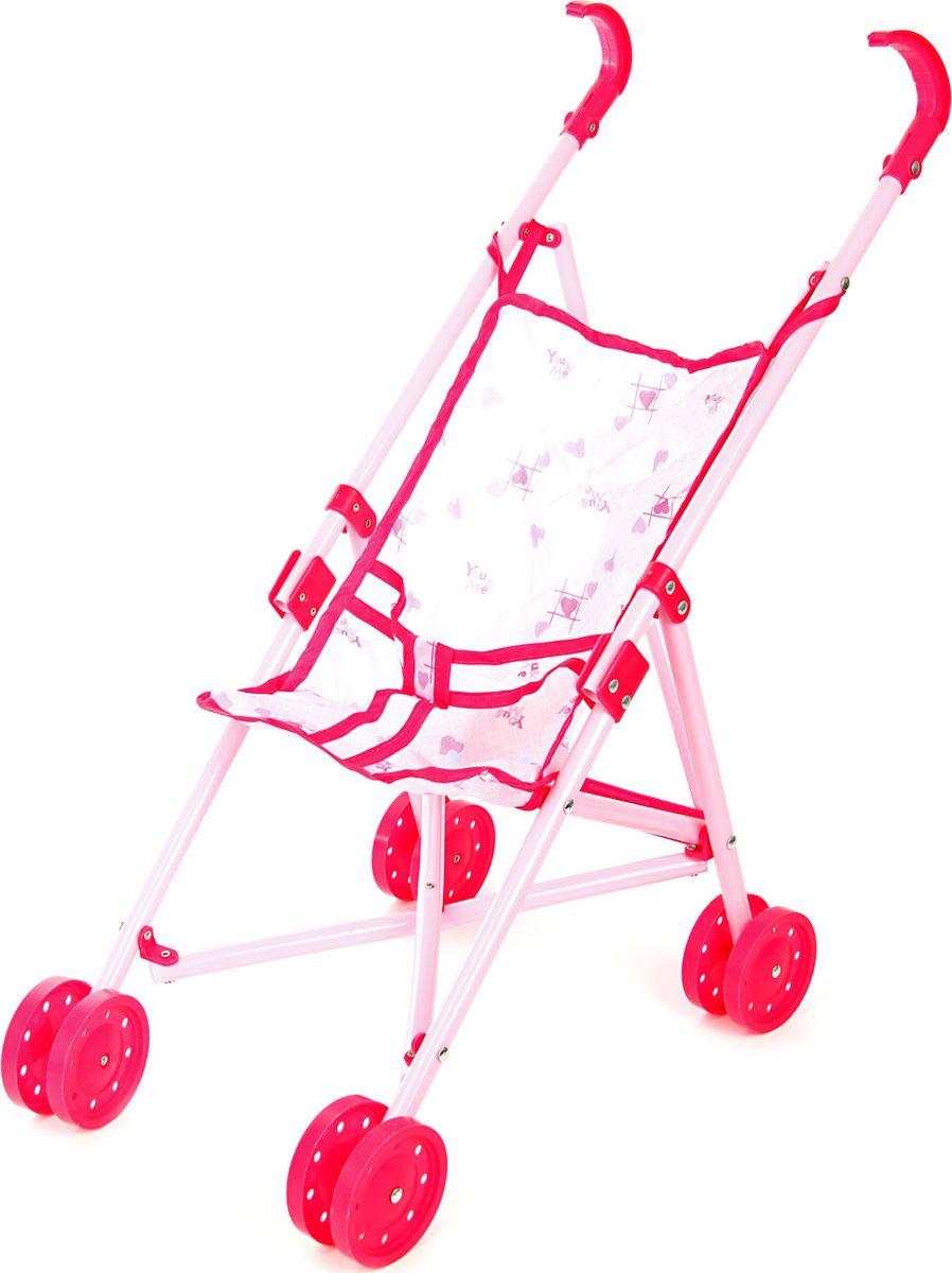 Ami&Co Коляска для кукол цвет белый розовый 58967