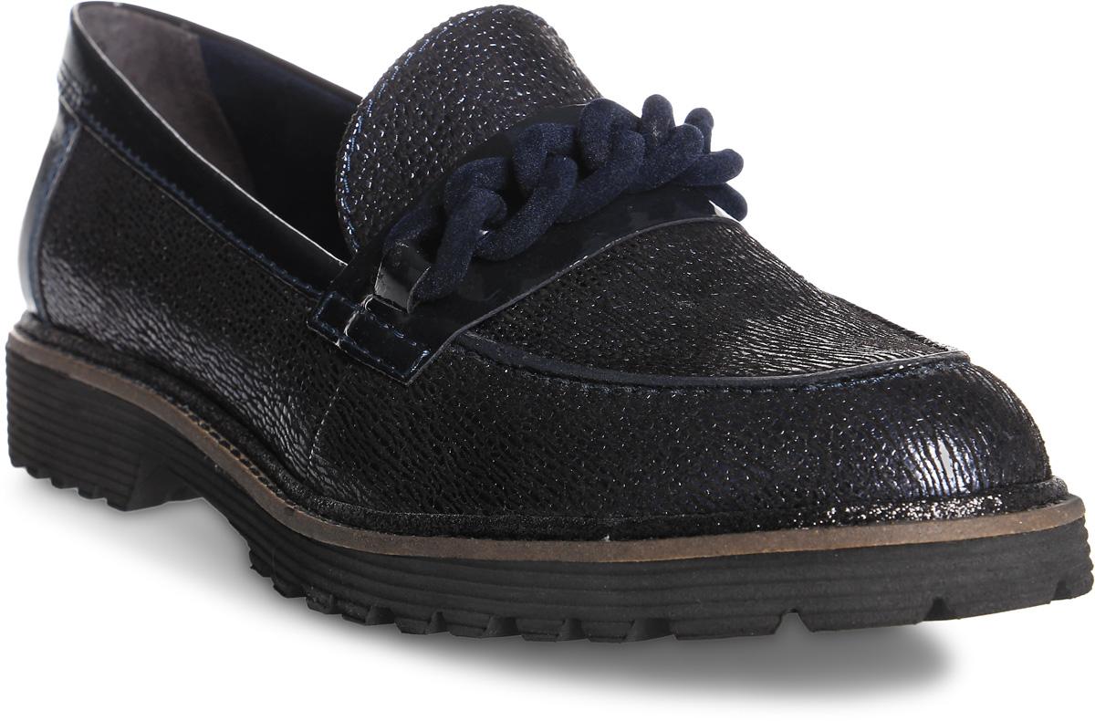Туфли женские Tamaris, цвет: синий. 1-1-24709-29-805/220. Размер 36
