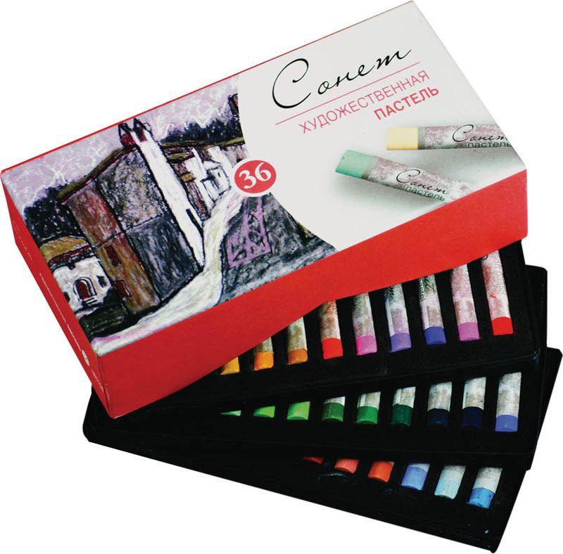 ЗХК Пастель художественная Сонет 36 цветов -  Мелки и пастель
