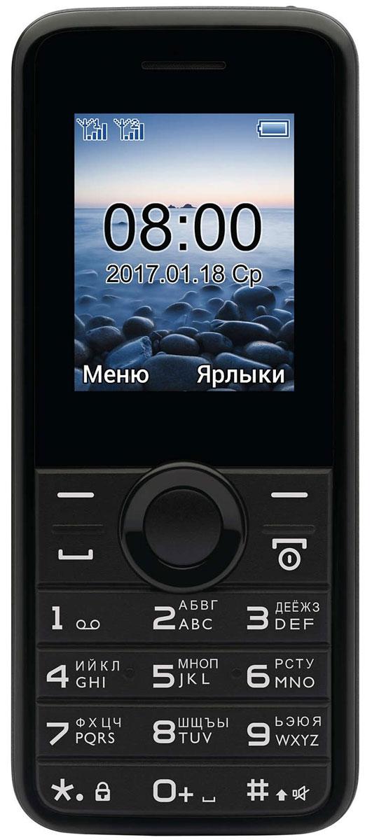 Philips E106, Black - Мобильные телефоны
