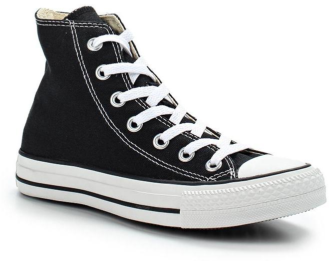 Кеды Converse Chuck Taylor All Star Core, цвет: черный. M9160. Размер 11 (45)M9160Высокие кеды от Converse созданы для тех, кто предпочитает оригинальный дизайн и непревзойденное качество. Кеды выполнены из плотного текстиля и оформлены контрастной прострочкой и фирменным логотипом. Мыс защищен резиновой накладкой. Сбоку предусмотрены отверстия с люверсами для вентиляции. Классическая шнуровка надежно фиксирует обувь на ноге. Стелька и подкладка из мягкого текстиля комфортны при ходьбе. Подошва исполнена из износостойкой резины контрастного цвета. Рифление на подошве обеспечивает идеальное сцепление с любыми поверхностями. Эффектные кеды помогут вам создать яркий образ.