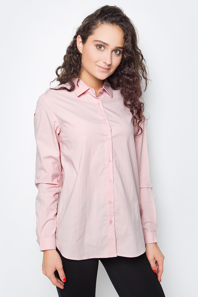 Блузка женская Baon, цвет: розовый. B177520_Dusty Flamingo. Размер XL (50) блузка женская baon цвет желтый b117007 размер xl 50