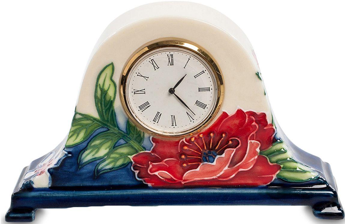 Часы Pavone Цветущий сад, высота 7,5 смJP-852/13Часы Pavone Цветущий сад - компактные часы в очаровательном старинном стиле. Часовой механизм находится внутри фарфорового основания, на котором нарисован цветущий сад. Циферблат имеет классическую круглую форму и выполнен из металла цвета золота. На фарфор нанесены изображения трав и цветов, а их основание окрашено в темно-синий цвет. Такие часы прекрасно подойдут для размещения на рабочем столе или на прикроватной тумбочке.