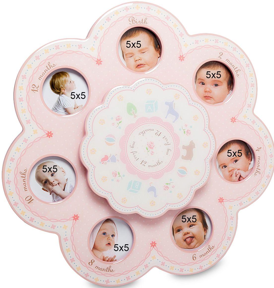 Музыкальная фоторамка Bellezza Casa Первые месяцы, на 7 фото: 5х5. CHK-121CHK-121Музыкальная фоторамка на 7 фото для фотографий 5х5 см.Рождение малыша – это самое прекрасное, что случается в жизни каждой девушки. И, конечно, не хочется забыть, упустить все важные моменты из жизни вашего крохи. Фоторамка Первые месяцы рассчитана на 7 фото. Она в оригинальной форме сможет сохранить первые месяцы из жизненного пути вашего малыша. А оригинальный вид рамки будет привлекать внимание окружающих.