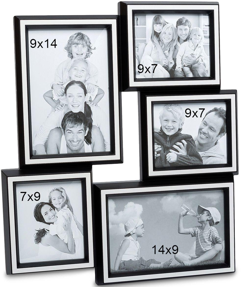 Панно из фоторамок Bellezza Casa Семейная история, на 5 фото: 10х15, 9х7, 7х9, 15х10. CHK-159CHK-159Панно из фоторамок для фотографий 10х15, 9х7, 7х9, 15х10 см.Наш мир с каждым поколением радикально меняется, меняются стереотипы поведения, модели отношений между людьми, изменяется шкала ценностей. Но лишь одно остается неизменным – семья, родители, дети. Эта традиция веками проходит через каждого человека. Фоторамка Семейная история, рассчитанная на 5 фотографий, поможет всегда помнить о своих корнях – родителях, о продолжении своего рода – наших детях. Благодаря тому, что такая фоторамка очень просто крепится к любой стене, она не займет много места, и в то же время – все семейные ценности будут всегда перед глазами. Теперь можно не расставаться со своей семьей даже на работе. Кроме того, такая рамка – это отличный подарок на юбилей или день рождения, День Влюбленных или Новый год. Ничто ни ценится так дорого – как семья и близкие сердцу родные люди.