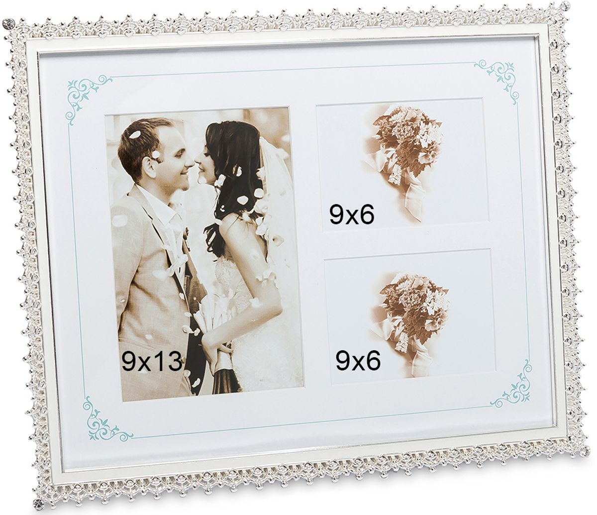 Фоторамка Bellezza Casa Мгновения любви, на 3 фото: 9х13, 9х6. CHK-172CHK-172Фоторамка для влюблённых изготовлена из фарфора и текстиля. На текстильной основе можно расположить до трёх фото, сделав компактную и красивую фотоподборку на память. Одна или две фотографии также будут прекрасно смотреться в такой рамке. Блестящий фарфор создаёт стильный и оригинальный вид.Фоторамка для фотографий 9х13 и 9х6 см.