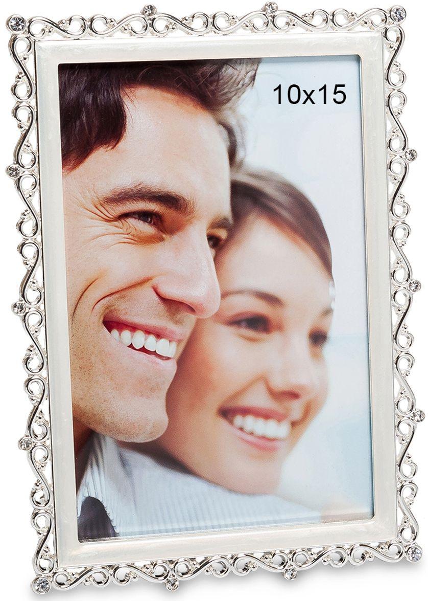 Фоторамка Bellezza Casa Зиг-заг воспоминаний, фото 10х15. CHK-110CHK-110Фоторамка для фотографий 10х15 см.Фоторамка Зиг-заг воспоминаний имеет очень оригинальный и элегантный дизайн. Рамка изготовлена из высококачественного материала, что позволит сохранить ее долговечность и отличное состояние. Плавно изгибающиеся линии делают рамку нежной и романтичной. В фоторамке любая фотография будет смотреться великолепно.