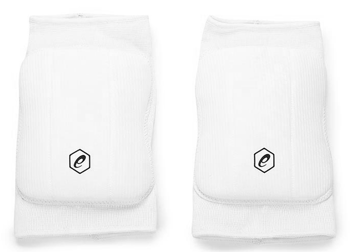 Наколенники Asics  Basic Kneepad , цвет: белый. Размер XL - Волейбол