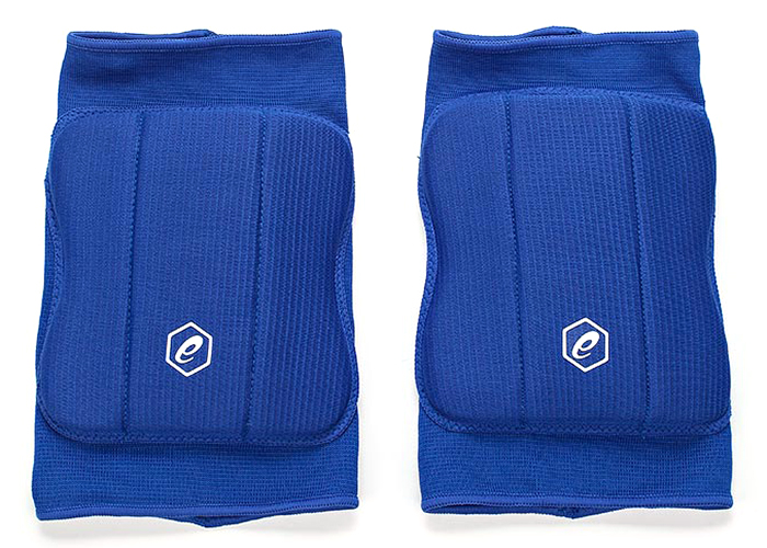 Наколенники Asics  Basic Kneepad , цвет: синий. Размер L - Волейбол