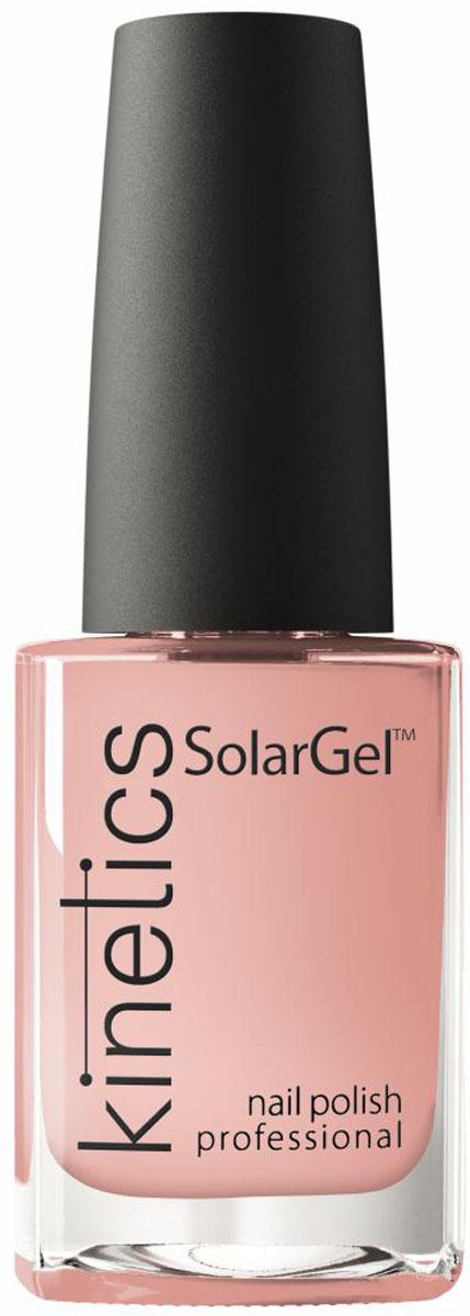 Kinetics Профессиональный лак SolarGel Polish, 15 мл, тон 375 kinetics 387 лак профессиональный для ногтей solargel polish 15 мл