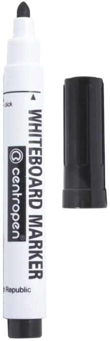 Centropen Маркер для доски цвет черный150318Маркер Centropen предназначен для письма на досках сбелой маркерной поверхностью. Чернила на спиртовой основе легко стираются сухой губкой для досок. Плотный колпачок предотвращает высыхание.