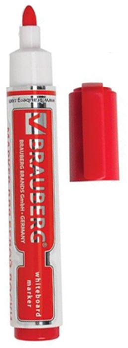 Brauberg Маркер для доски Neo цвет красный150489Высококачественный маркер для белой маркерной доски. Не высыхает с открытым колпачком в течение нескольких дней.