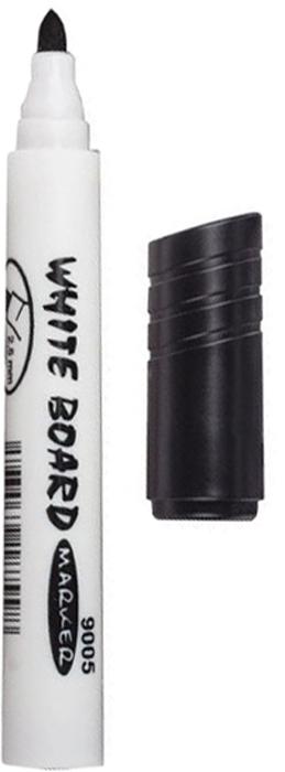 Koh-i-Noor Маркер для доски цвет черный150675Высококачественный маркер Koh-i-Noor на спиртовой основе для белой магнитно-маркерной доски. Не высыхает с открытым колпачком в течение нескольких дней. Чернила стираются сухой губкой.