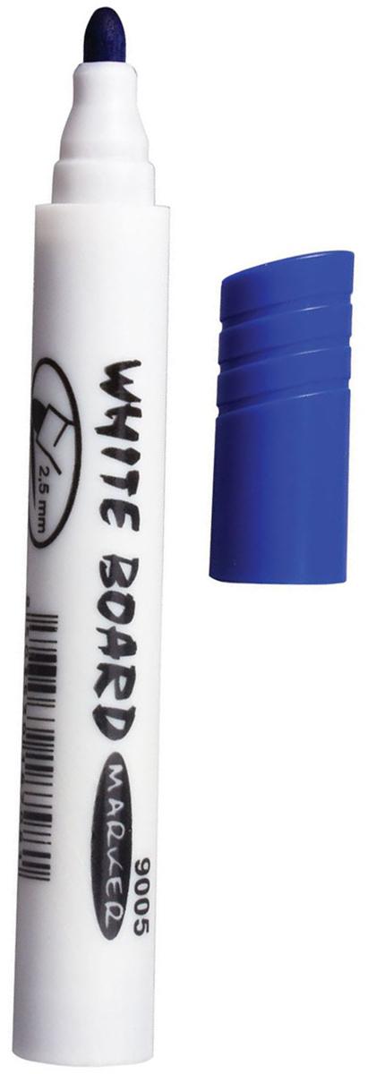 Koh-i-Noor Маркер для доски цвет синий150900Высококачественный маркер на водной основе для белой магнитно-маркерной доски. Не высыхает с открытым колпачком в течение нескольких дней. Чернила стираются сухой губкой.