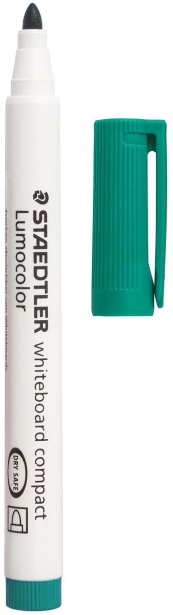 Staedtler Маркер для доски Lumocolor цвет зеленый 341-5151001Высококачественный маркер для белой магнитно-маркерной доски. Не высыхает с открытым колпачком в течение нескольких дней. Чернила легко стираются с доски стирателем для магнитно-маркерной доски. Даже при сильном нажатии пишущий узел остается на месте.