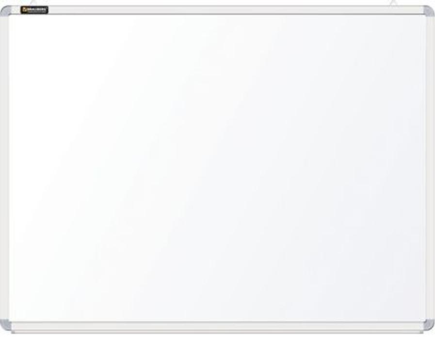Brauberg Доска магнитно-маркерная 90 х 120 см 231715231715Доска идеально подойдет для проведения тренингов, совещаний и презентаций. Белое лаковое покрытие предназначено для письма специальными маркерами для белой доски. Металлическая поверхность позволяет размещать объявления при помощи магнитов.