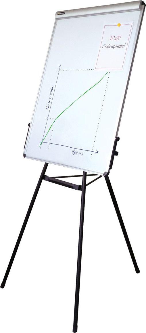 Brauberg Доска-флипчарт магнитно-маркерная 70 х 100 см 231720231720Доска-флипчарт незаменима для проведения презентаций и совещаний. Белая лаковая металлическая поверхность предназначена для письма специальными маркерами и размещения информации с помощью магнитов. Регулируемая высота. Держатель для бумажного блока.