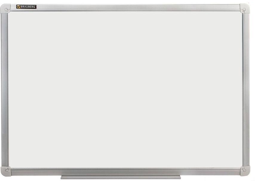 Brauberg Доска магнитно-маркерная 120 х 180 см235525Доска идеально подойдет для проведения тренингов, совещаний и презентаций. Лаковое покрытие предназначено для письма специальными маркерами для белой доски, а металлическая поверхность позволяет размещать объявления при помощи магнитов.