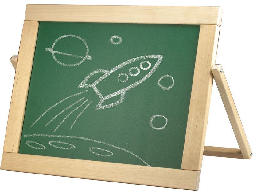 Предназначена для детских учебных заведений. Доска имеет 2 рабочие поверхности: одна для мела, вторая - для маркеров на водной основе и крепления магнитов. В комплекте: мел, маркер, магнитные буквы (русские и английские), цифры.