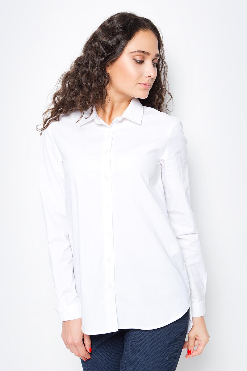 Купить Блузка женская Baon, цвет: белый. B177520_White. Размер M (46)