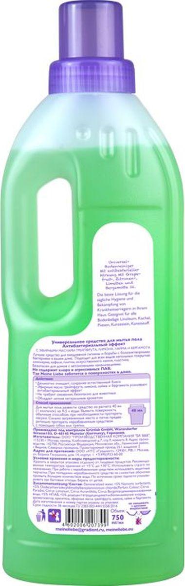 Лучшее средство для ежедневной гигиены и борьбы с болезнетворными  бактериями в вашем доме.  Подходит для всех видов напольных покрытий:  линолеума, кафеля ,плитки, искусственного камня, пластика. Свойства: деликатно  очищает, сохраняя естественный блеск эфирные масла грейпфрута, лимона, лайма  и бергамота усиливают антибактериальный эффект не оставляет разводов, не  требует смывания обладает легким, натуральным ароматом  безопасно для  животных. Быстро разлагается на биологические составляющие. Не  содержит фосфатов, хлора и прочих агрессивных компонентов.