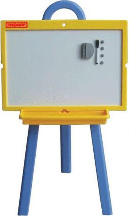 Пифагор Доска магнитно-маркерная и меловая 45 х 60 см231725Предназначена для детских учебных заведений. Легко перемещается. Белое лаковое покрытие используется для письма специальными маркерами для белой доски, зелёное - для письма мелом.